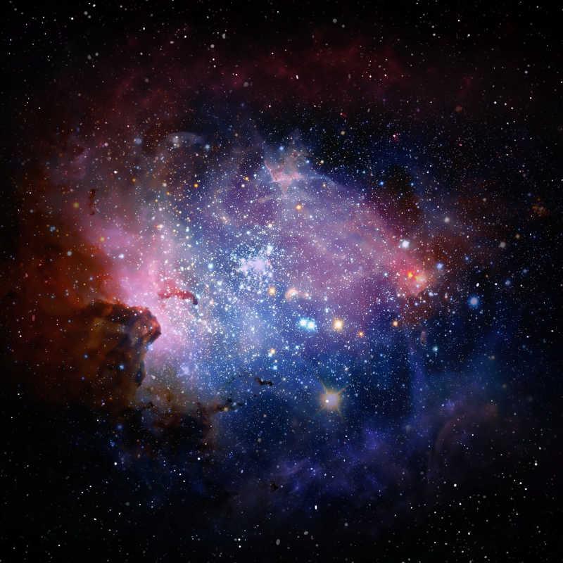 宇宙星云大气层