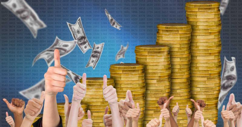 竖起大拇指看货币增长