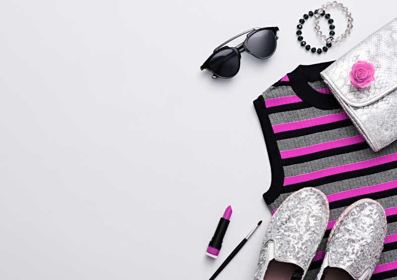 现代时尚设计时髦配件