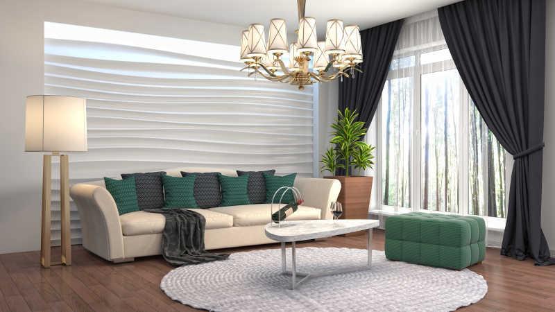 现代室内的客厅装修