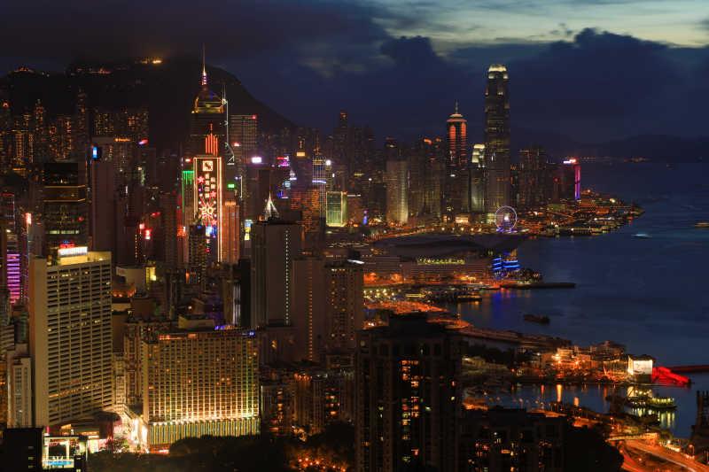 中国自然建筑天际线