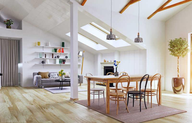 阁楼现代设计装修