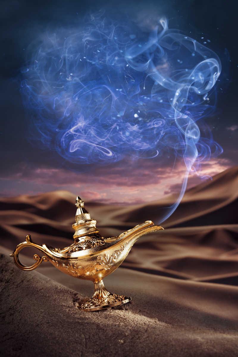 阿拉丁魔术|沙漠上的阿拉丁神灯语文图片素材上册S版六神灯年级集体备课v魔术记录图片