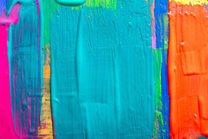 油漆抽象手绘艺术背景