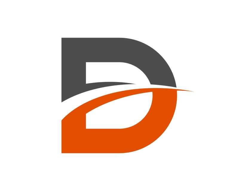 抽象D字母的标签模板