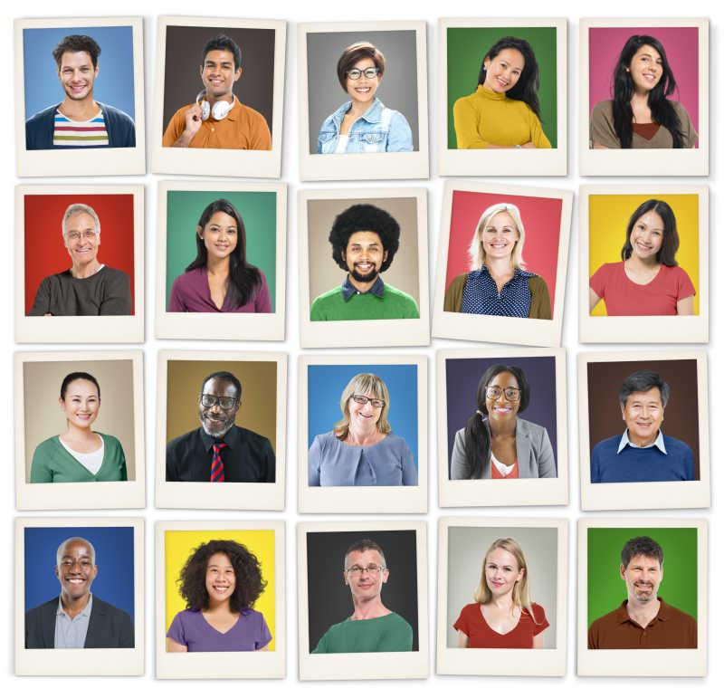 人类人脸图片素材_正面的人类人脸创意cg_jpg格式