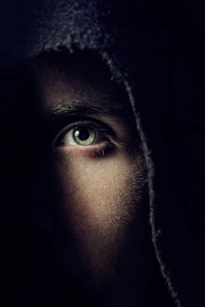 黑暗中的眼睛