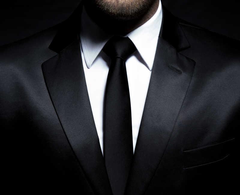 绅士女头像领带动漫