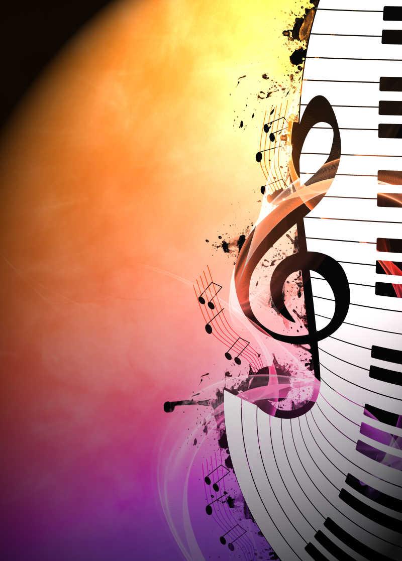 背景音乐标识图片 音乐会邀请广告背景素材 高清图片 摄影照片 寻图免费 图片