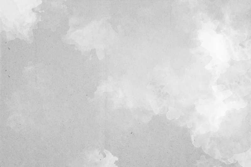 冬季白色和灰色抽象水彩背景