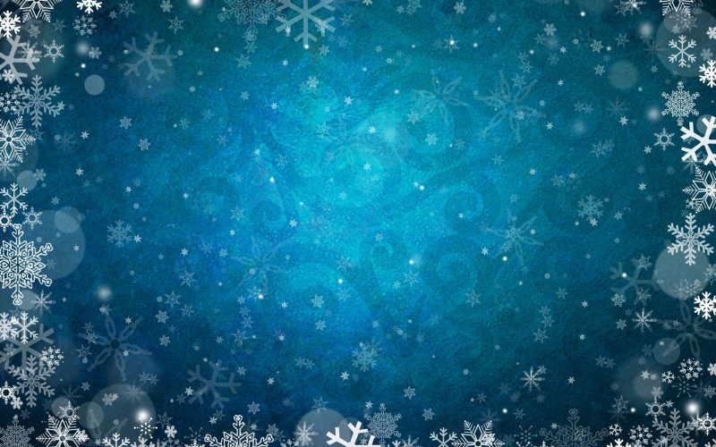 冬季雪花背景图片素材_银色闪烁的冬天背景背景图案