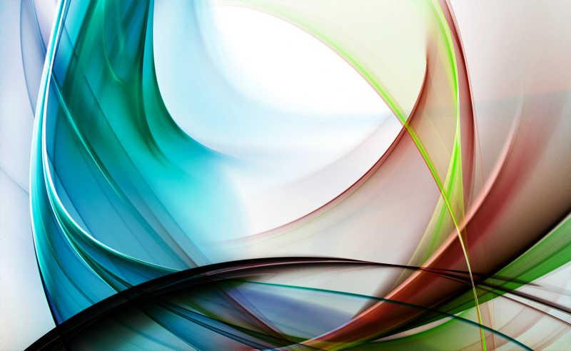 抽象艺术线条背景