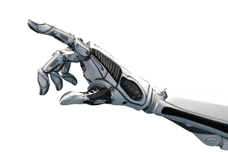 未来设计理念的机械臂