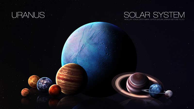 火星车图片_太阳系行星图片_天王星的高分辨率照片素材_高清图片_摄影照片 ...