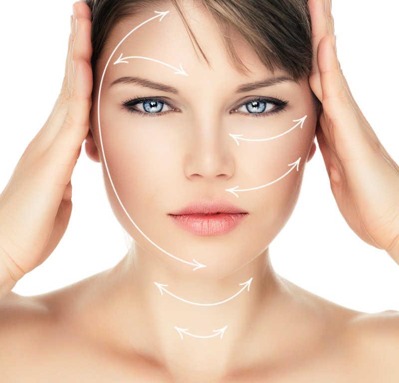 激光手术治疗女性面部白色孤立症