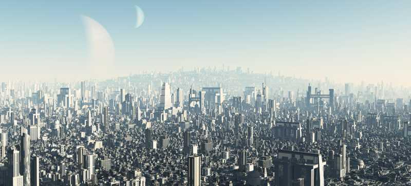 未来城市建筑景观