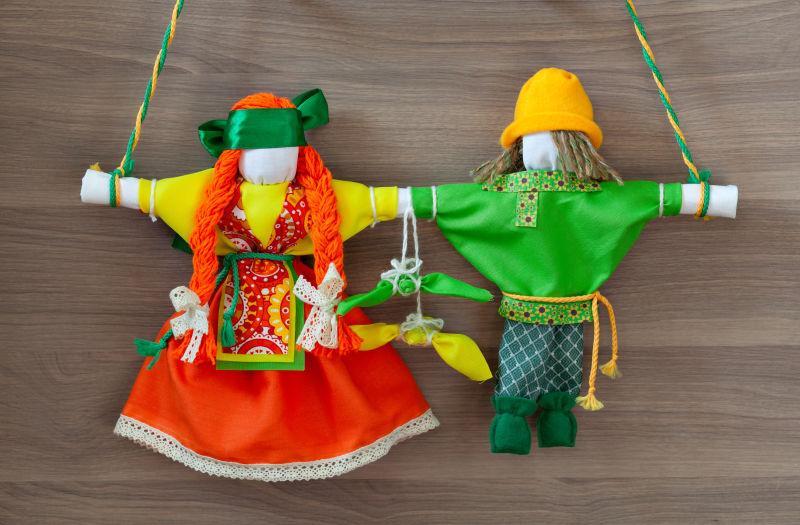 俄罗斯民间手工玩偶