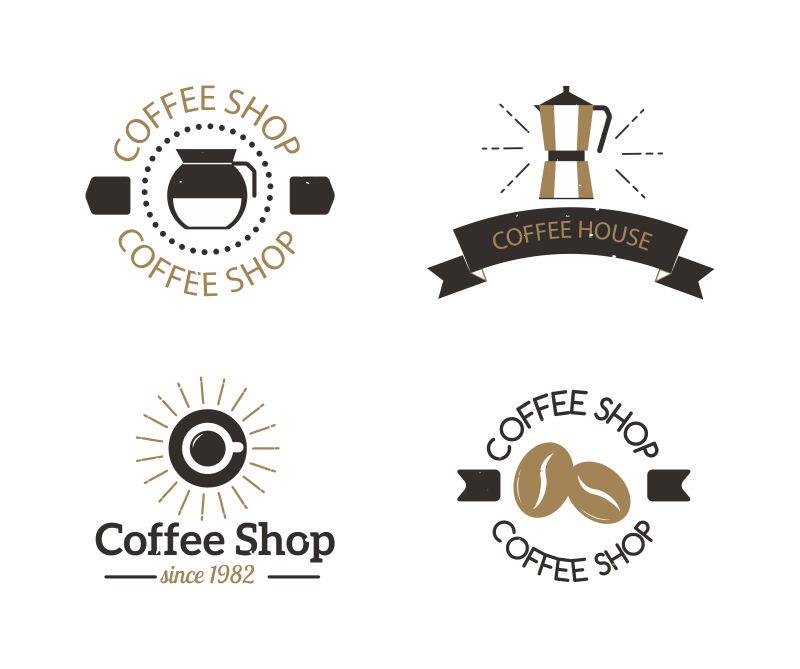 矢量咖啡店标志创意设计合集