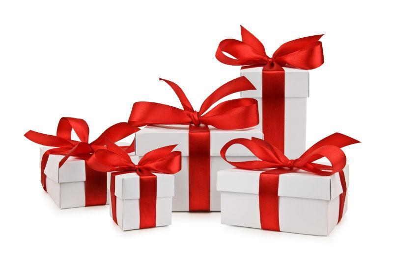 圣诞礼物图片_白色礼盒素材_高清图片_摄影照片_寻图图片