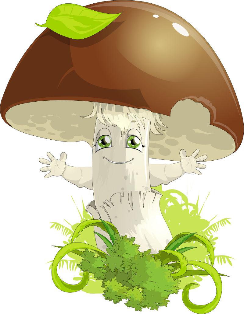 矢量卡通蘑菇屋图片素材_矢量卡通童话风格的蘑菇屋