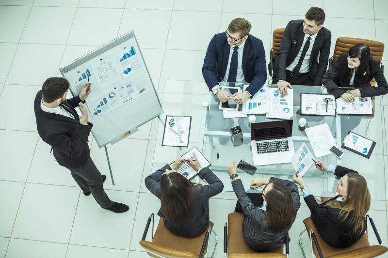 办公室新项目的专业业务团队