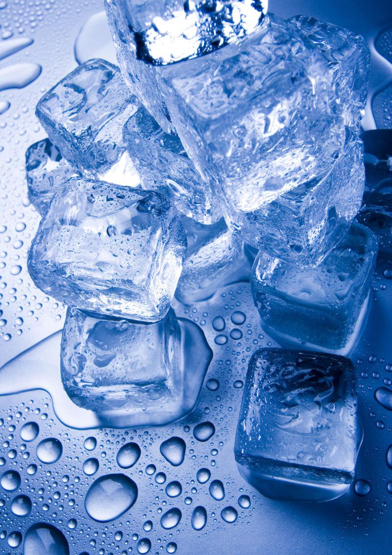 美丽的冰块