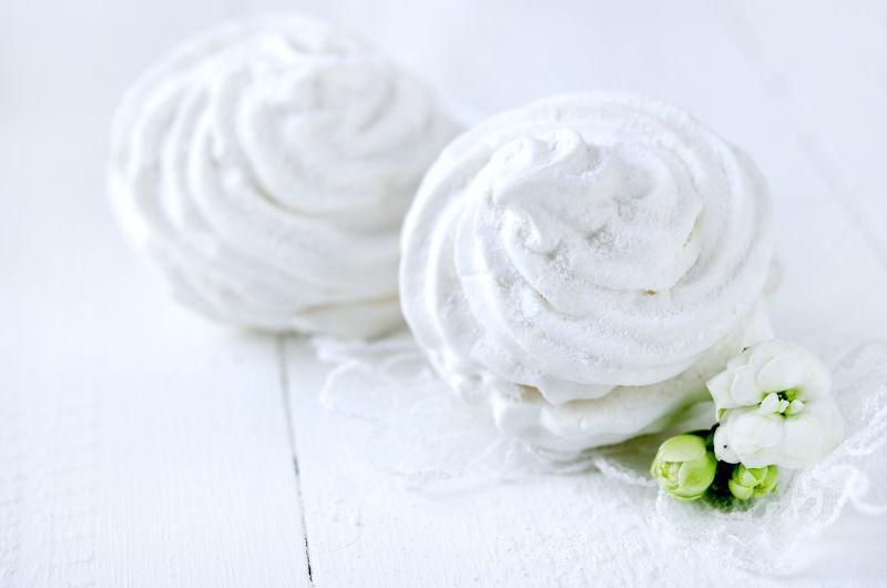 白色棉花糖