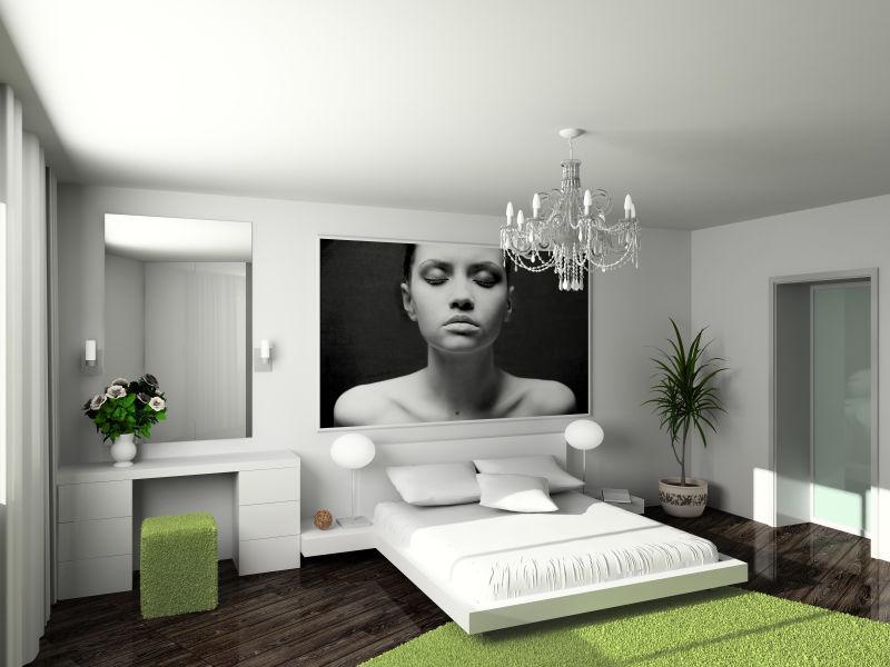 现代舒适室内