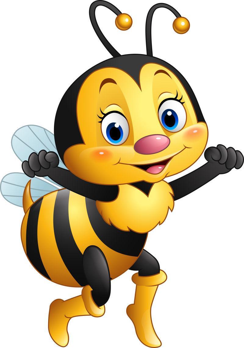 蜜蜂卡通图片_矢量卡通蜜蜂图片_创意矢量可爱的小蜜蜂素材_高清图片_摄影 ...