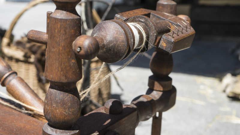 传统的毛纺纱线