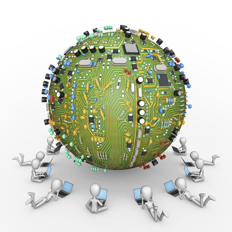 计算机行星连接