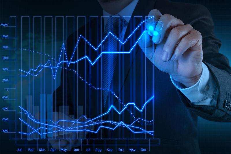 商人以新的现代计算机和企业战略为理念
