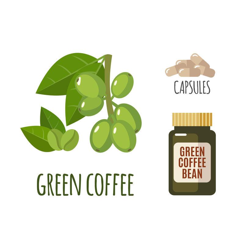 超健康绿色咖啡,平装。