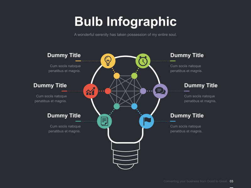 矢量幻灯片展示背景图片素材_矢量商业概念的幻灯片