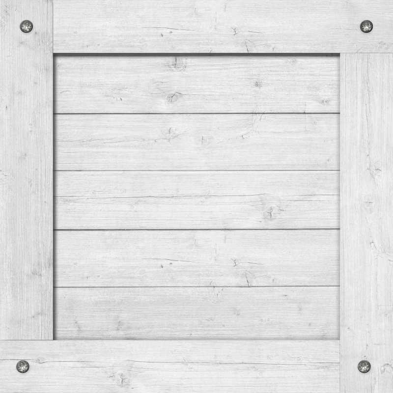 白色木箱墙或框架纹理背景