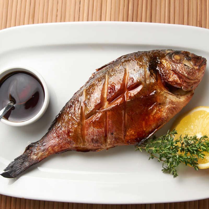 色香味俱全的的烤鱼