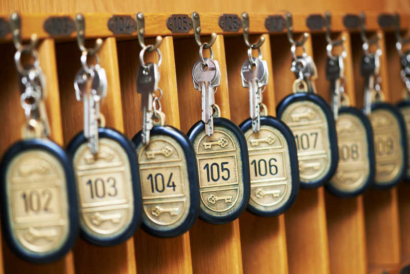 酒店客房钥匙