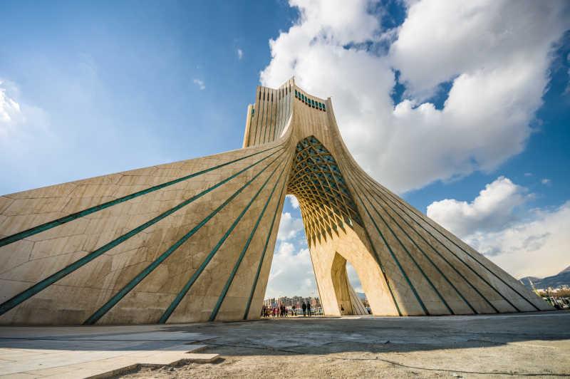 伊朗德黑兰塔建筑