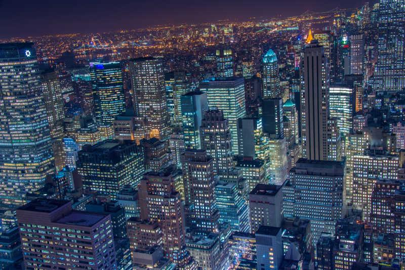 纽约著名的摩天大楼
