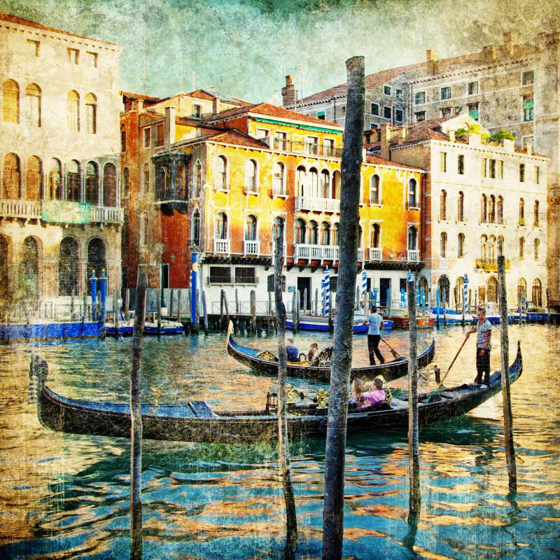 威尼斯绘画风格的艺术作品