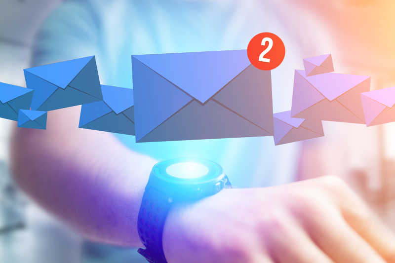 智能手表未读邮件