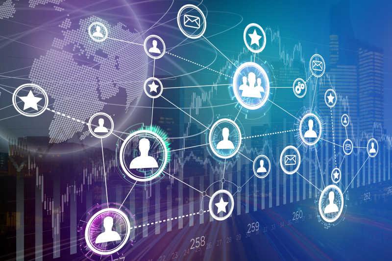 金融与城市背景下的企业国际网络接口概念