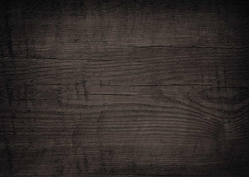 深棕色砧板或木板上的纹理