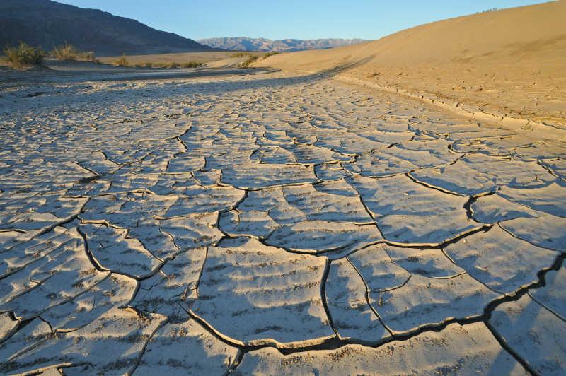 干涸的加利福尼亚州