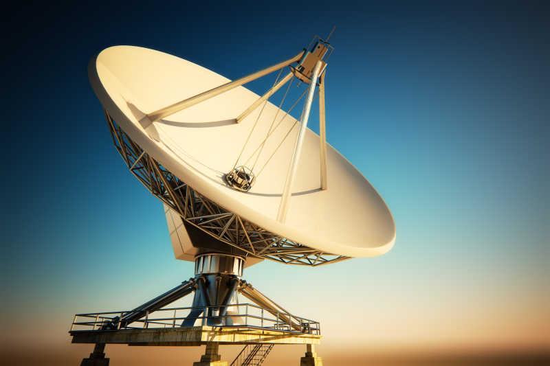 无线数据传输的卫星天线锅
