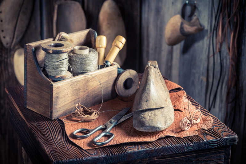 鞋匠的工作工具