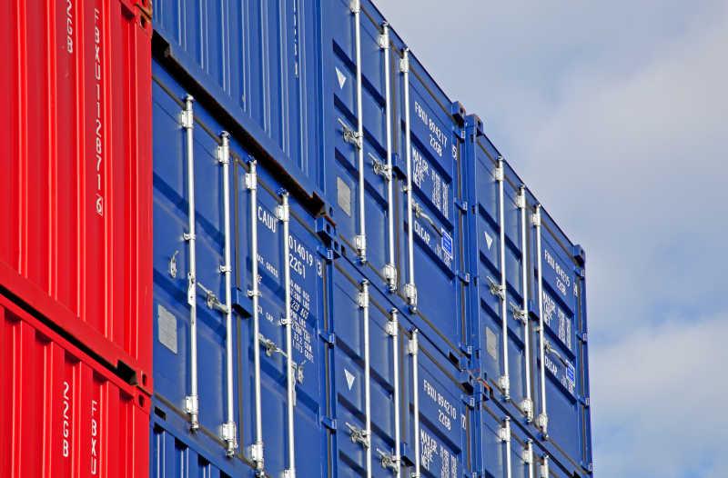 交通运输集装箱