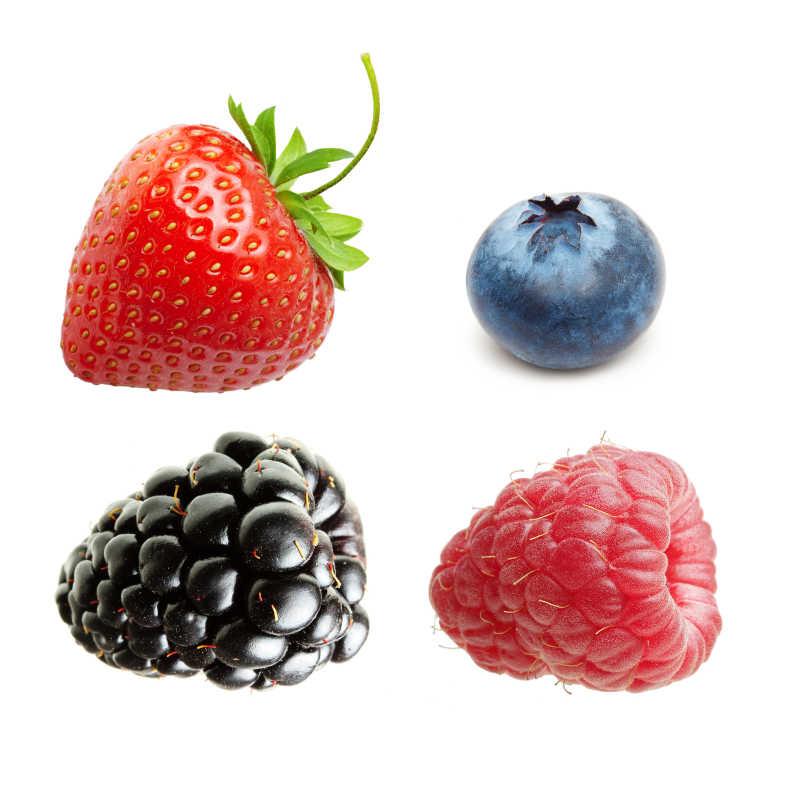 新鲜的有机水果