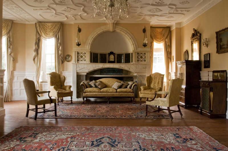 古典装修风格的客厅