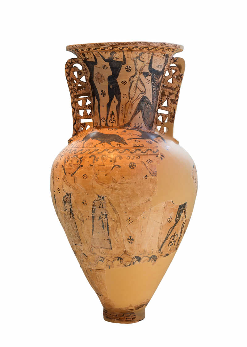 古希腊双耳瓶